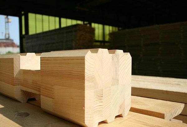 胶合木层压木材