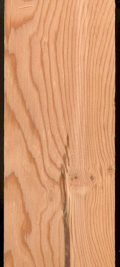 曝光的木材