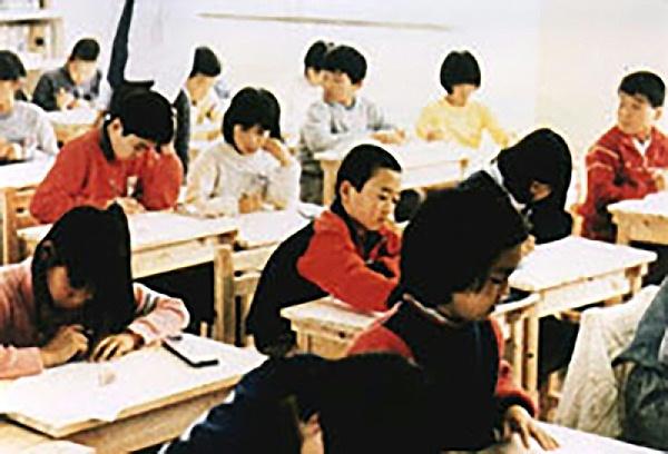 木质教学楼室内
