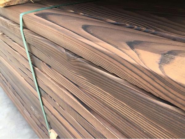 碳化防腐木材料