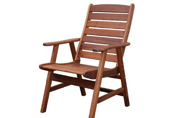 碳化木椅子