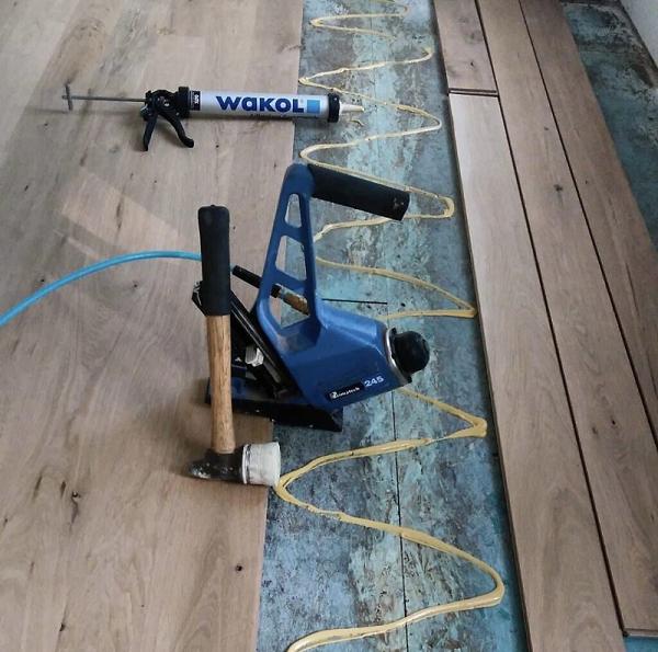 木地板的安装
