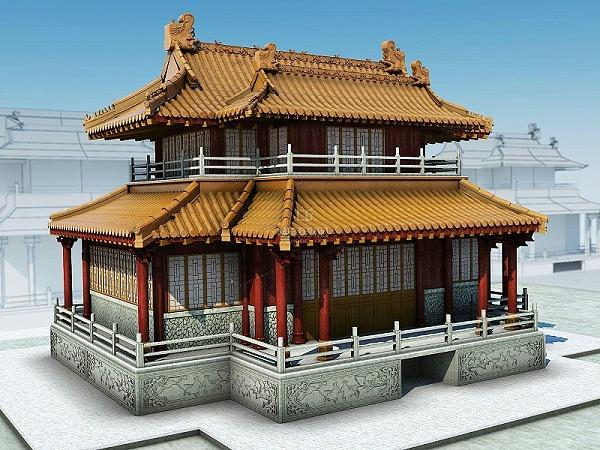 古建筑架构