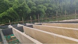 新弘瑞森胶合木工程进入正式安装阶段