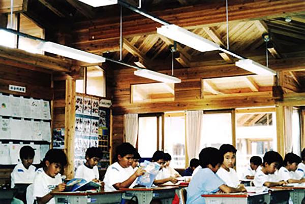 木质教学楼提高学习效果