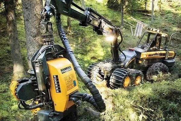 木材砍伐机器