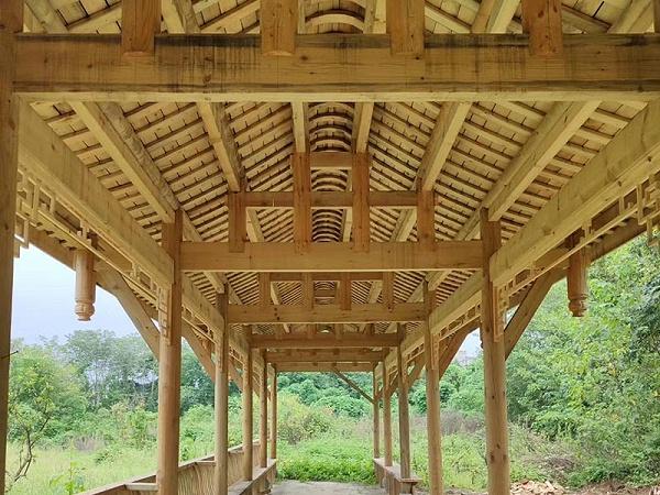 防腐木结构