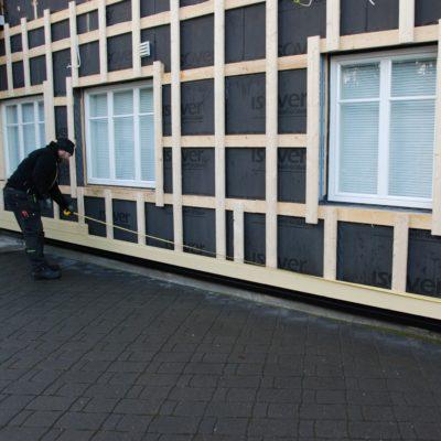 松木墙板安装图片-新弘瑞森