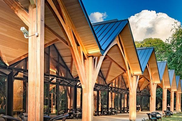 胶合木建筑