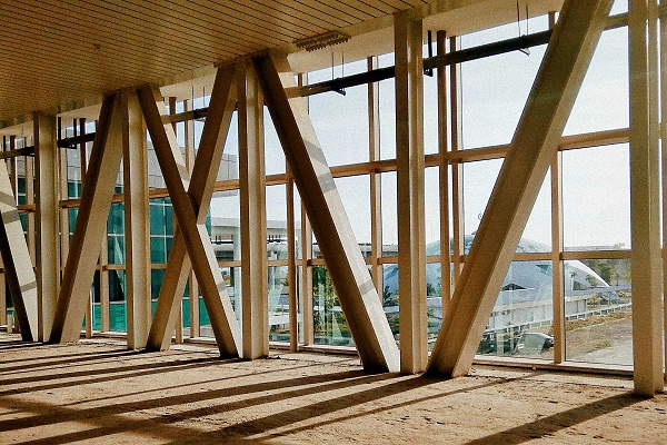 胶合木木结构建筑
