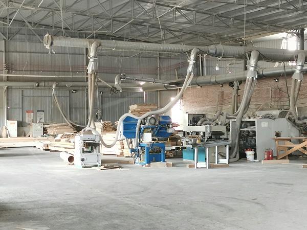 胶合木生产车间