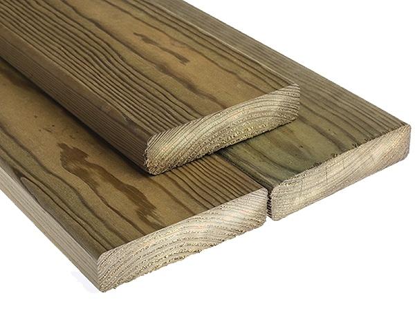 南方松防腐木板材