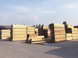 新弘瑞森木材摆放处
