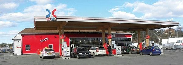胶合木加油站