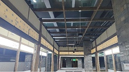 新弘瑞森打造宜宾农贸市场木结构