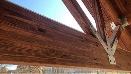胶合木使建筑中的轻型承重结构成为可能