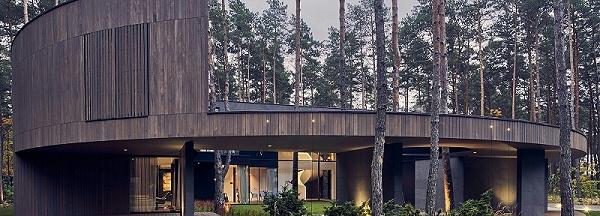 胶合木小木屋