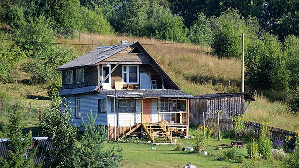 樟子松防腐木木屋